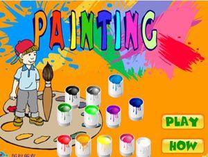 بچه ها نقاشی,گلهای آسمانی